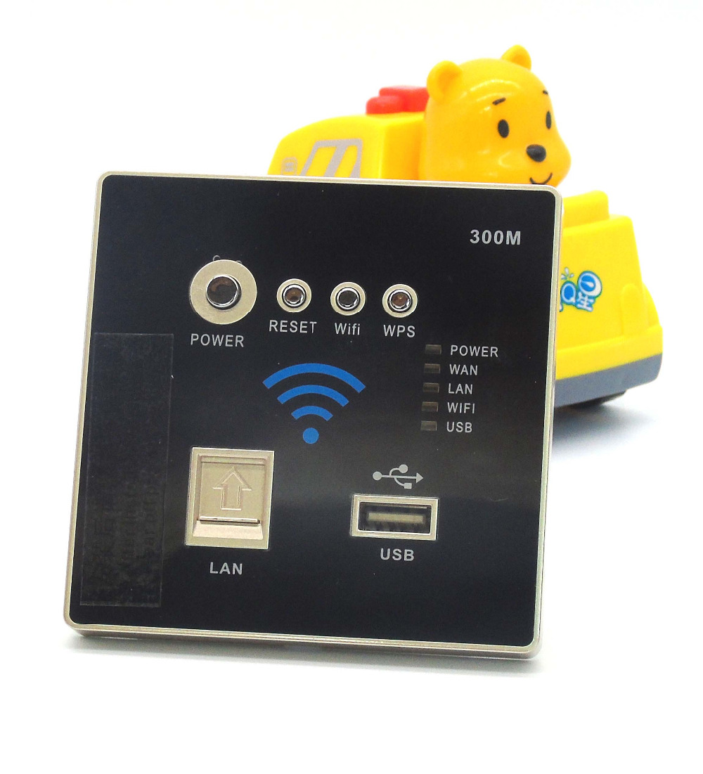 86 standard Router, PPPOE dial, USB charging, wireless repeater with 300 MBPS<br>