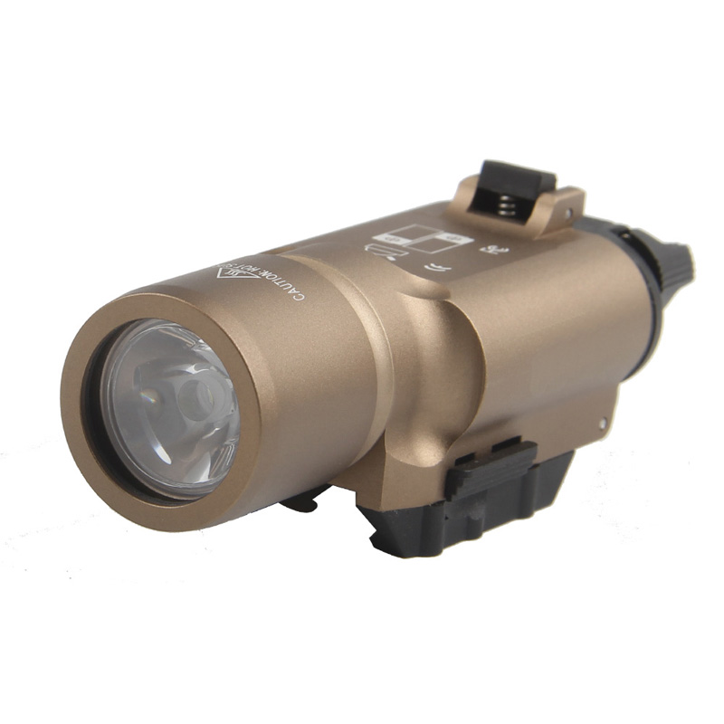 Tactical X300 LED Weapon light Flashlight Torch For Hunting Free Shipping HT8-0002-11