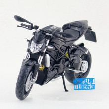 JOYCITY/1:12 Scale/Simulation Die-Cast model motorcycle toy/beautiful MOD.Streetfighter 2010/Delicate children's toys and gifts