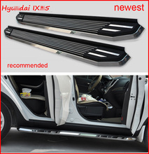 "running board side step bar for Hyundai IX35 (Tucson IX), 2010-2016, ""Luxurious"" model, high bright edge, high cost performance(China)"
