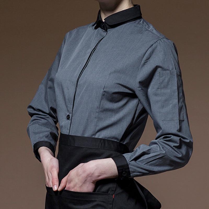 Long Sleeve Hospitality Work Wear D84-7