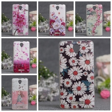 Newest New 3D Relief Printing Case for Lenovo A5000 Phone Case Soft TPU Cases Cover For Lenovo A5000 A 5000 Silicon Covers