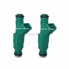 2 x Green Giant Fuel Injector 42 lb/hr For Ford Mustang 440cc V8 5.0 GT Cobra 9202100 0280155968 0280 155 968 0 280 155 968
