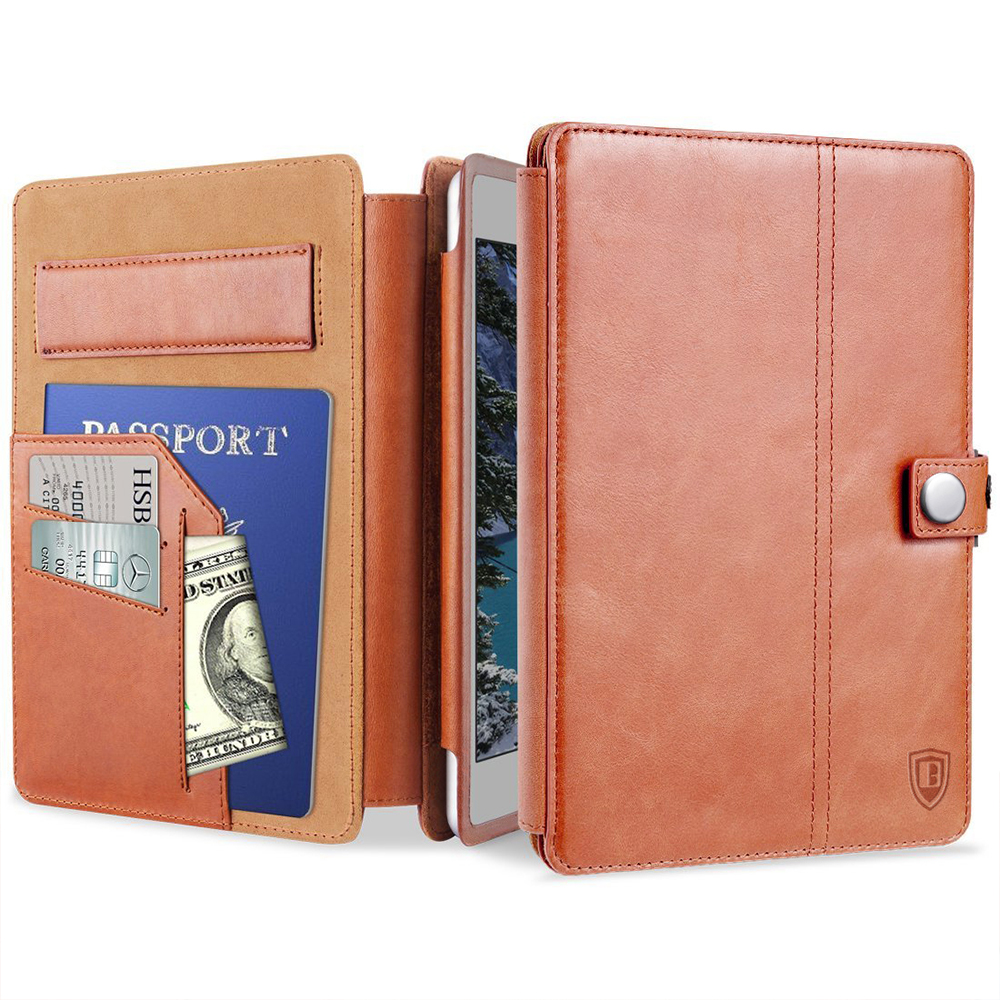 Benuo For iPad Pro 10.5 Case Leather [Card Slots] Pencil Holder For Apple Pencil Folio Case For iPad pro 10.5 inch 2017 New<br>