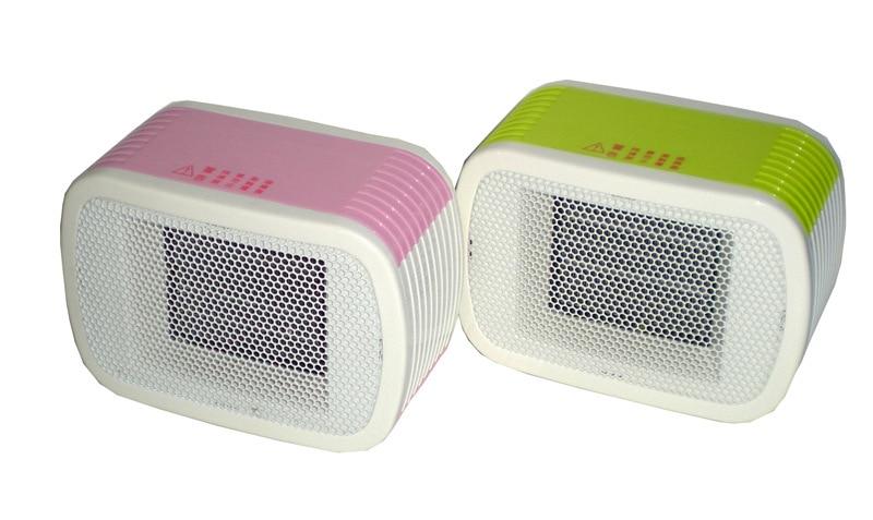 MinF01-1, free shipping, 500W, Small Portable Electric fan Mini desktop heater Heat Immediately when turn on Europe VDE Plug<br>