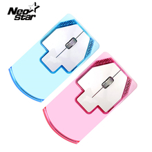 Colorful Transparent LED Night Light Optical Wireless Mouse Mute 2.4G For Macbook Mac For PC Desktop Computer Laptop Notebook