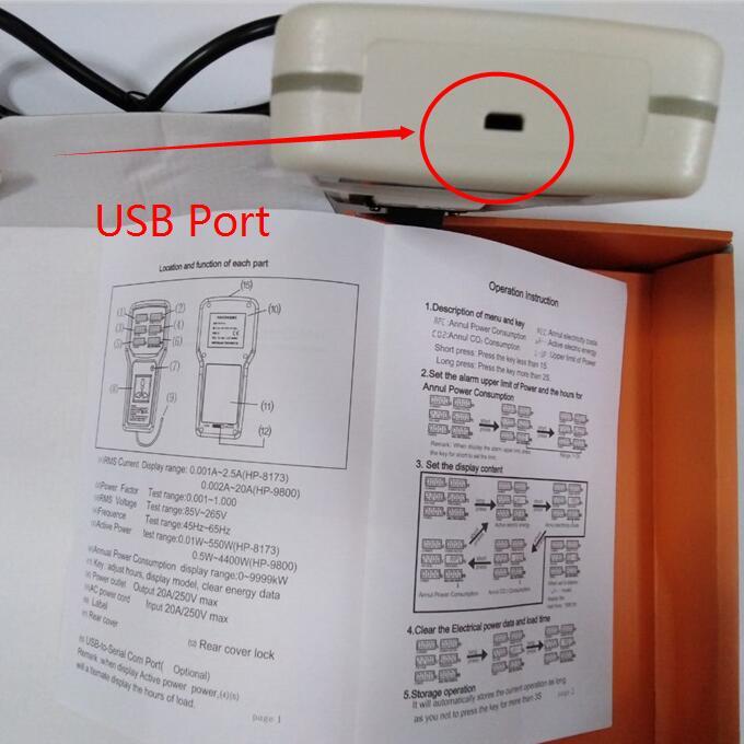 HP9800USB 8