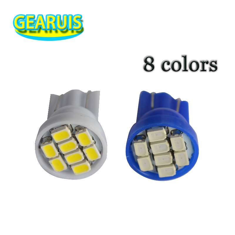 T10 3528 194//W5W 3 SMD BRIGHT RED LED INTERIOR MAP//DOME//TRUNK WEDGE LIGHT//BULB