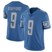 Men's 9 Matthew Stafford #20 Barry Sanders Jersey Embroidery Stitched 2017 Retired Player Color Rush Limited