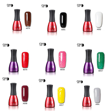 SIMD UV Builder Gel Polish Bling Nail Gel Manufacturer Glitter Builder Nail Art UV Gel 2016 Fashion Colors UV Gel Nail Polish(China)