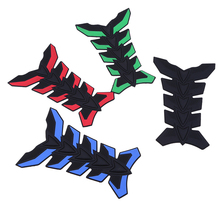 3D Motorcycle Tank Pad Tankpad Protector Stickers For Honda Kawasaki Yamaha Suzuki BMW Universal Fishbone Blue Red Green Black(China)