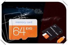 High quality  Class 10 micro memory card  4g 8g 16g 32gb 64gb 128gb TF Memory Card+reader+adapter super mini Transflash T4