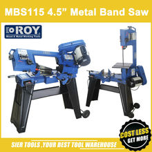 "MBS115 Metal Band Saw/ROY Brand 4.5"" Woodworking Saw Machine/Powerful metal saw lathe"