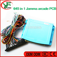 645 in 1 Multi Game Board Pandora PCB Box 4 with 5,6 ButtonsJamma Wire Harness for Arcade Games VGA Output