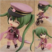 "Hatsune Miku Senbon Zakura Good Smile Company Nendoroid Ver. #480 PVC Action Figure Collection Model Toy 4"" 10CM Free shipping(China)"