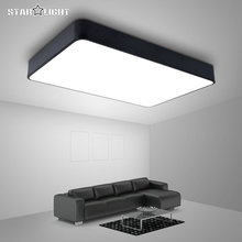 Modern LED ceiling light simple rectangle ceiling fixtures study office dining room balcony bedroom living room lamp