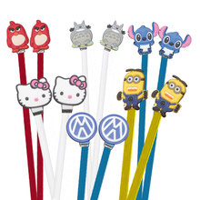 High quality noodles stitch Hello Kitty dads cartoon headphones headset Earphones