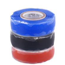 3 Meter Pipe Excluder Rescue Repair Seal Silicone Tape Rubber Tool Blue Soft Garden Water Connectors Self Fusing Wire Hose(China)