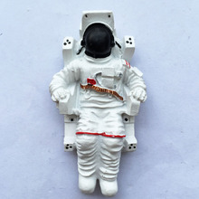 NASA astronaut astronauts refrige sticker ornaments doll model decoration Toys figures(China)