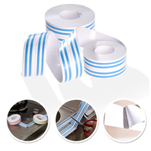 New 3.8CM*2.8M Waterproof Anti-mildew Decoration Supplies Adesivo Adhesive Tape Corner Line Wall Stickers Poster For Kitchen