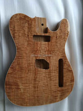 st lp guitar factory Custom Shop good wood maple top Tele guitar Body for tele Electric Guitar Free Shipping