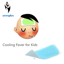 Fever Patch Ice Cooling Patch 4*11cm /5*12cm Cooling Gel Patch Ice Sheet Hydrogel Cool Fever Plaster
