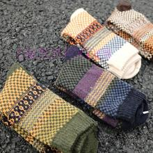 4Pair Casual Mens Warm Winter Soft Thick Angora Cashmere Rabbit Wool Blend Socks(China)