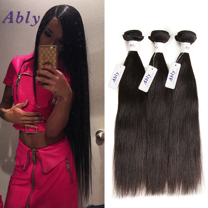 Ably 8a Brazilian Virgin Hair Straight Human Hair Brazilian Hair Weave 3bundles Straight Unprocessed Human Hair Weave No Tangle<br><br>Aliexpress
