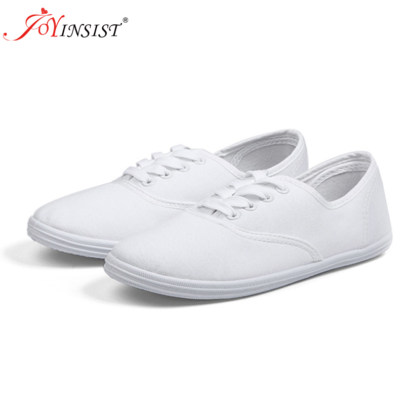 Women's spring canvas shoes female Korean white shoes breathable Literature student shoes female foreign trade shoes(China)
