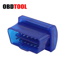 Opp Pack Mini obdii elm 327 Bluetooth Code Reader OBDII Diagnostic Tool elm327 v2.1 obd2 adapter Work On Android/Window