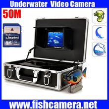 50m 600TVL CCD Color Underwater Video Camera Fishing Camera,Unterwasser-Videokamera, wasserdichte CCTV-Kamera, Fisch Kamera