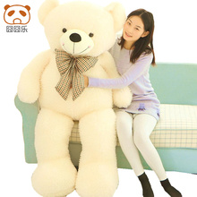 High quality Hot Selling 59'' / 150cm Large Giant Stuffed Plush Animal teddy bear Toy, Great Gift, Free Shipping(China)