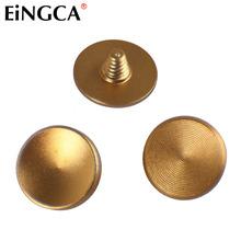 3 Pieces Gold Flat Concave Convex Camera Mechanical Shutter Release Button for Leica Fujifilm X100 X100s X100t X30 M9 X-E2 XT10