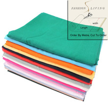 140cm Wide Rayon Fabric Solid Color Summer Apparel Fabric Cloth Material By The Meter