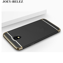 Luxury Hard Coverage Removable Fundas Case For Samsung Galaxy J3 J5 J7 Pro 2017 J330 J530 J730 EU Version 3 in 1 back cover case(China)