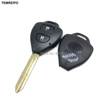20pcs/lot 2 button Replacement Car Transponder Key shell For Toyota Keys Toyota Camry Remote Key Shell toy47 blade