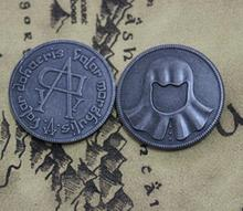 A Song of Ice Game of Thrones Iron coin of the Faceless Man Collectibles Hot Top