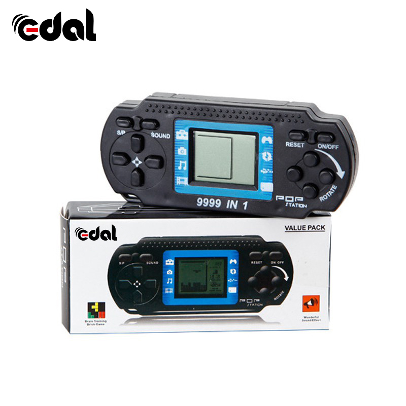 EDAL Portable Children's Handheld Game Players Tetris Kids Handheld Video Game Console Hand-held Gaming Device For PSP