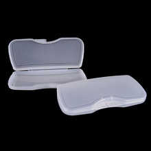 1PCS Durable Transparent Clip On Glasses Box Eyewear Sunglasses Case Glasses Box Protector Eyewear Accessories(China)