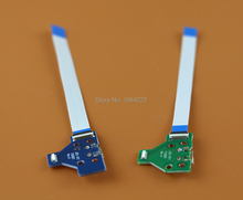 10pcs=5sets High Quality 12pin 14pin LED Power / Charging PCB Board with flex Ribbon Cable for PS4 Controller