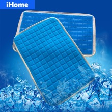 New 28x42cm ROYAL EASE Soft Silicone Gel Pillow Pad Chair Cushion Summer Cooling Sofa Seat Mat Simulation Skin Mats Mattress(China)