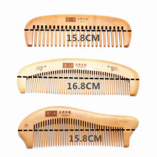Natural Health Care Anti-static Peach Wood Hair Brush Combs Paddle Brush Hair Care Hairbrush Comb Massage Hair Straightener