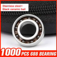 1000pcs 688 Bearings Ceramic Beads Bearing For Gyro Rotary Machine Precision Reducer Automotive Lights Shaft Tool Accessories(China)