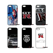 JDM Car NISSAN GTR Metal Logo Cell Phone Case Cover For iPhone 4 4S 5 5C SE 6 6S 7 Plus Samsung Galaxy Grand Core Prime Alpha(China)