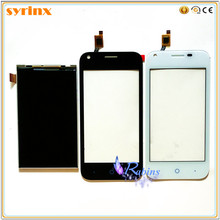 SYRINX 4.0 inch Mobile Phone Touch Panel Sensor Touchscreen For zte L110 Touch Screen Digitizer Front Glass LCD Display(China)