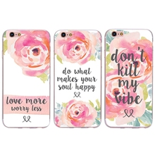 0723 Rose Flowers Designs cell phone bags case cover for iphone 4S 5S 5C SE 6S 7 PLUS Samsung S3 S4 S5 S6 S7 IPOD Touch 4 5