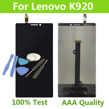 Touch Screen LCD For Lenovo K920 Vibe Z2 Pro Display Digitizer Assembly For Lenovo K920 LCD Vibe Z2 Pro Free Ship+Free Tools
