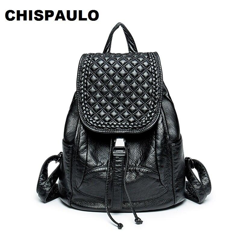 Women Bags Brand 2017 Designer Genuine Leather Backpacks For Teenage Girls Large Capacity Women Laptop Shoulder Travel Bags N120<br>