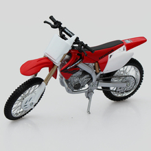 New Retail Box Cool 1/12 Scale HONDA CRF 450R Motorcycle Diecast Metal Motorbike Model Toy For Children Gifts Free Shipping