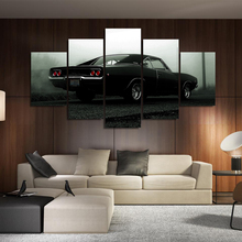 Modular Poster HD Printed Canvas Painting Frame For Living Room Wall Art 5 Pieces Hot Rod Vintage Car Pictures Home Decor(China)